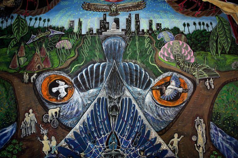 mural birds detail1